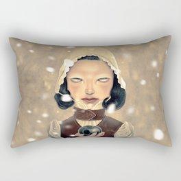 Snowhite Rectangular Pillow