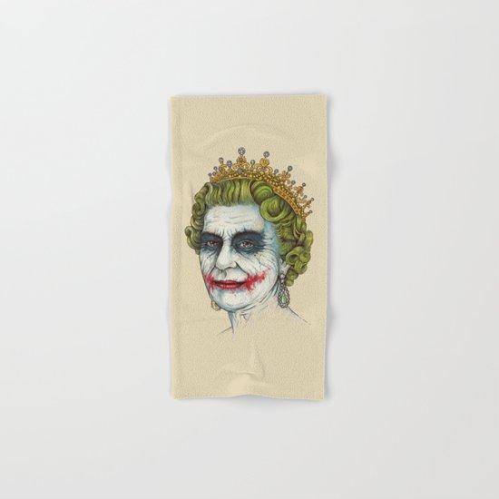 God Save the Villain! Hand & Bath Towel