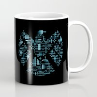 agents of shield Mugs featuring Alien Agents by Doodle Dojo