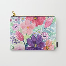 Blooms for Days Carry-All Pouch