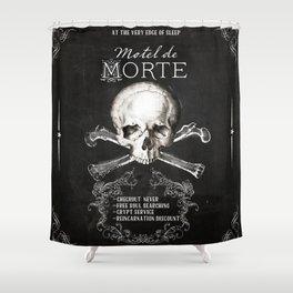 Motel de Morte Shower Curtain