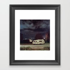 Night. Framed Art Print