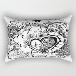 Affirmation Doodle  Rectangular Pillow