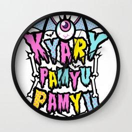Kyary Pamyu Pamyu 3 T-shirt Wall Clock