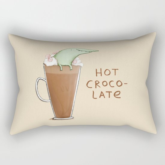Hot Crocolate Rectangular Pillow