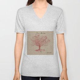 Pear Trees Unisex V-Neck