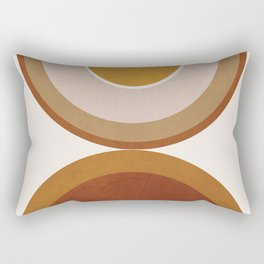 Modern Geometry Rectangular Pillow