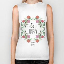 Be Happy Biker Tank