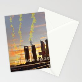 communications and light Stationery Cards