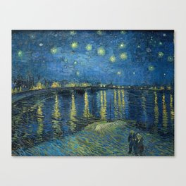 Starry Night Over the Rhône Canvas Print
