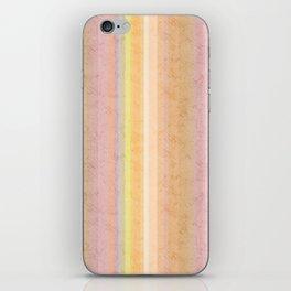 Multi-colored striped pattern .4 iPhone Skin