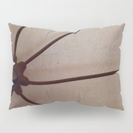Rusty antique wagon wheel Pillow Sham