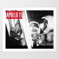 Apollo Tee Art Print