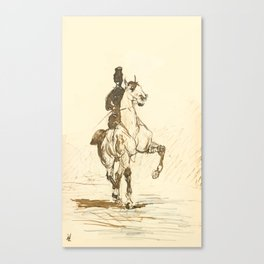 """Henri de Toulouse-Lautrec """"Amazone"""" Canvas Print"""
