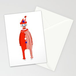 Spooky Halloween Clown Serial Killer John Wayne Gacy Stationery Cards