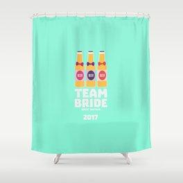 Team Bride Great Britain 2017 T-Shirt Dqqh7 Shower Curtain