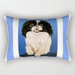 Peke Paisley Rectangular Pillow