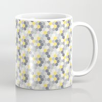 honeycomb Mugs featuring Honeycomb by Amanda Merlin
