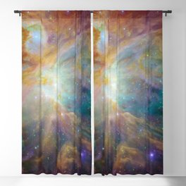 Heart of Orion Nebula Space Galaxy Blackout Curtain