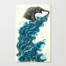Self Serve/Surf Canvas Print