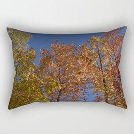 Les arbres dans le ciel Rectangular Pillow