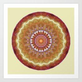 Mandalas from the Heart of Peace 12 Art Print