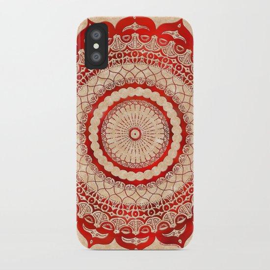 omulyána red gallery mandala iPhone Case