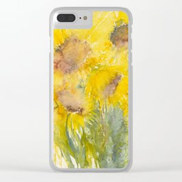 Sunburst Clear iPhone Case