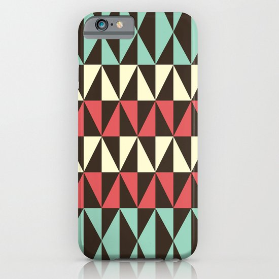 Retro pattern iPhone & iPod Case