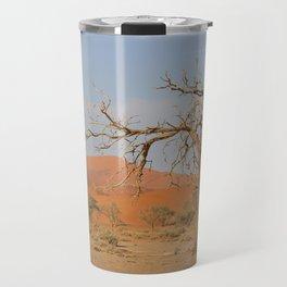 Namibia Desert with Sand Dunes Travel Mug