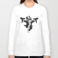 guns Long Sleeve T-shirts featuring Monopoly / Guns by tshirtsz