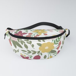 Cute Tiny Pink Flowers Fanny Pack