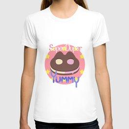 Cookie Cat! [text] T-shirt