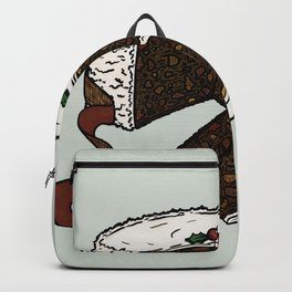 X is for Xmas Cake Backpack