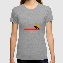 Kakapo Bird Retro Vintage Style Gift Idea T-shirt