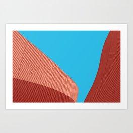 skymetric • 2 Art Print