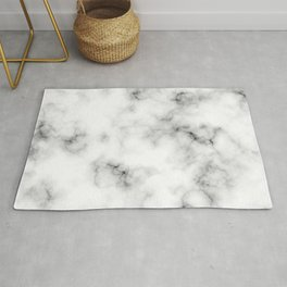 Light gray marble (3) Rug