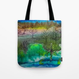 A Walk with Trees Tote Bag