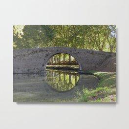 Canal du Midi Metal Print