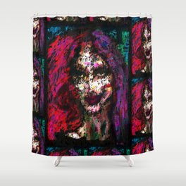 Sister Nyx Shower Curtain