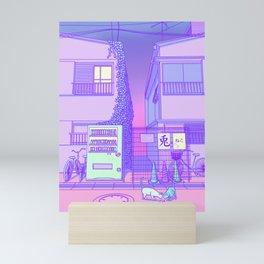 Pastel Tokyo Cats Mini Art Print