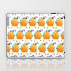 bird in love Laptop & iPad Skin