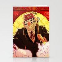 gravity falls Stationery Cards featuring Welcome to Gravity Falls by Dapcat