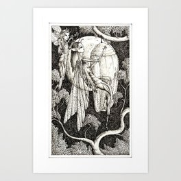 Coming of age Art Print