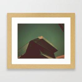 seattle library Framed Art Print