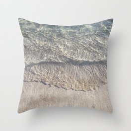 Water Photography Shoreline | Ocean Wave | Wave | Sea Throw Pillow