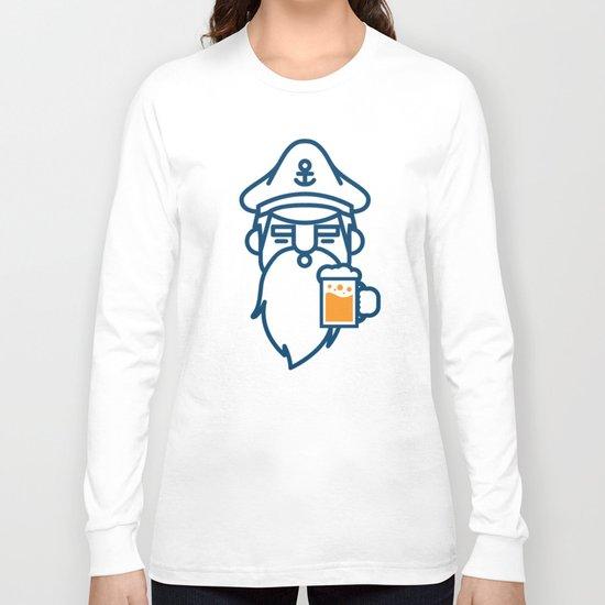 beard & beer  Long Sleeve T-shirt