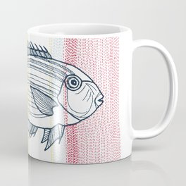 Stitches: Fish Coffee Mug