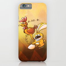 Easter Bunny Stealing an Egg from a Hen iPhone 6s Slim Case