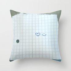 Smile :) Throw Pillow